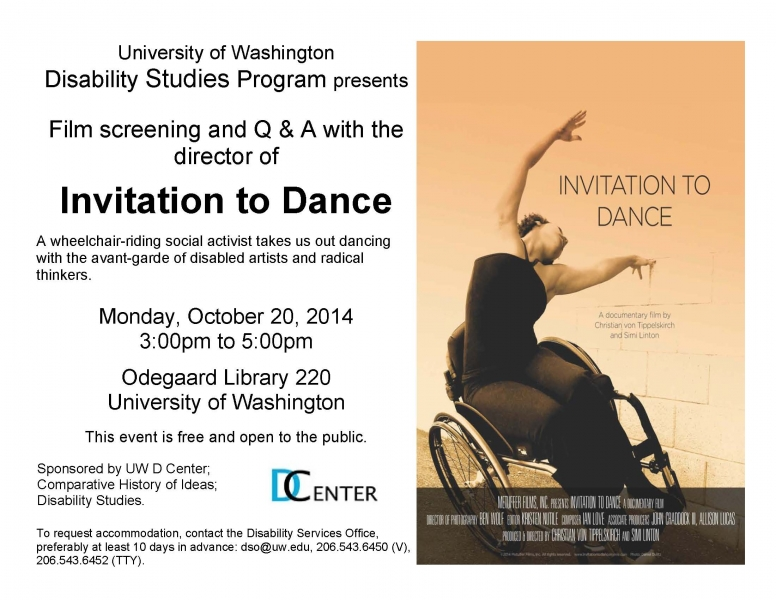 Invitation to dance a documentary film followed by qa with the invitation to dance a documentary film followed by qa with the film director stopboris Images