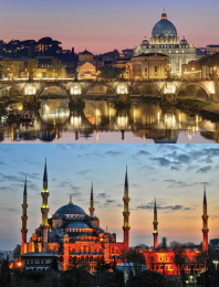 Rome and Istanbul