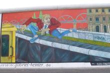 Wall graffiti in Berlin