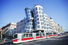Light rail in Prague