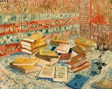 "Van Gogh's ""The Yellow Books"" Painting"