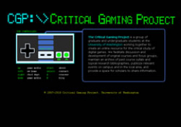 Critical Gaming Project