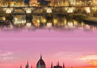 Image of two cities in CHID Legacies: Rome, Budapest, and Vienna