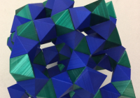 Geometric Folded Art Piece