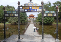 Minh Mang Tomb near Hue, Viet Nam