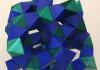 Geometric Folded Art Piece