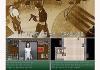Violent game images collage