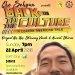 Event Poster: Corean Artist, Che Sehyun brings his original songs, stories and visuals for a night of hilarity, tragedy and intrigue! West of Lenin and Che Sehyun present Back to the Culture: A Corean American Tale