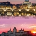 Rome and Budapest